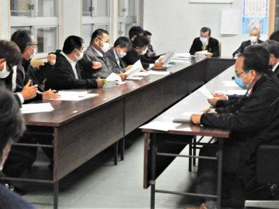 亀津・亀徳地区小中臨時休校