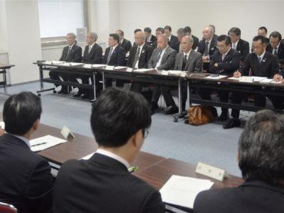離島物流で県、初の対策会議