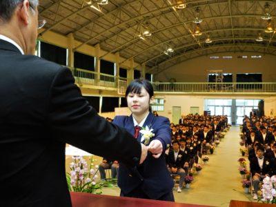 公立高校卒業式