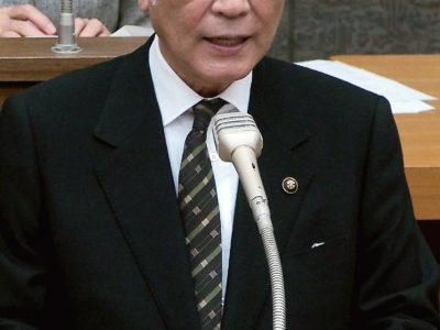 朝山市長、施政方針
