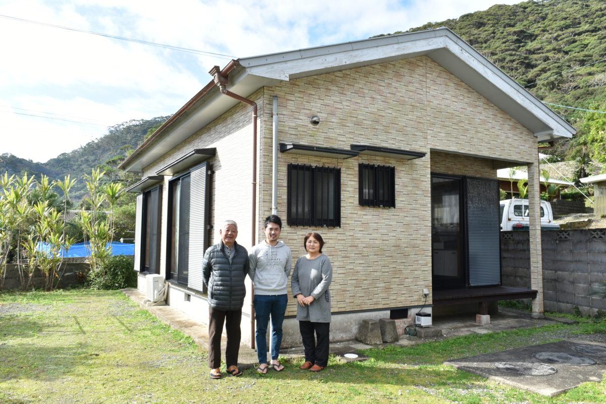 龍郷町秋名の民泊施設