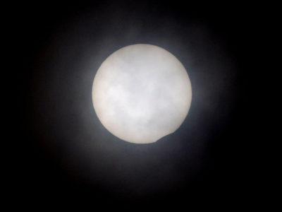 部分日食、奄美でも