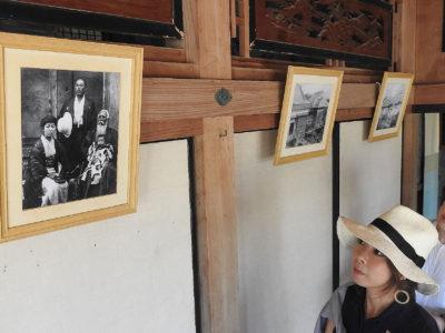 伝統の古民家で古写真展