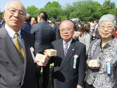 東京奄美会 会長と幹事長を招待