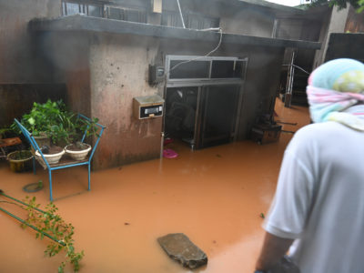 沖永良部で大雨