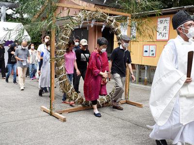 高千穂神社で「大祓式」