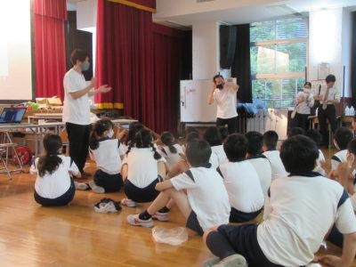命の大切さ伝える課外授業開催