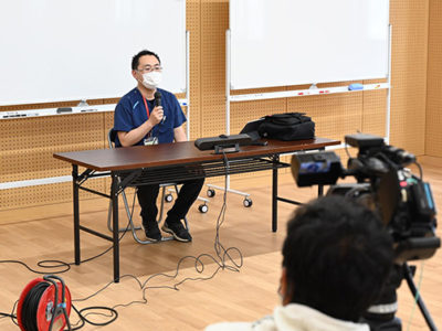 和泊町で感染症対策研修会