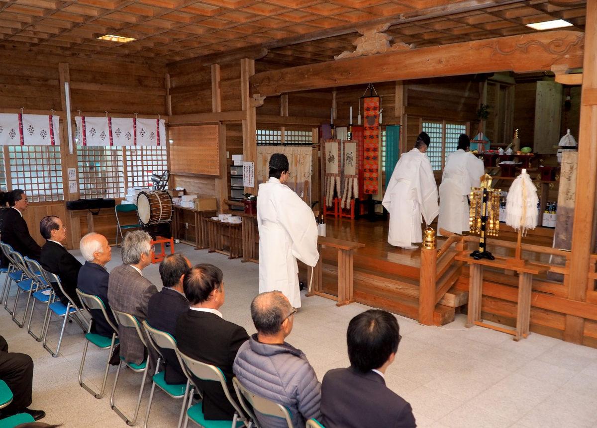 高千穂神社で建国記念日 紀元祭