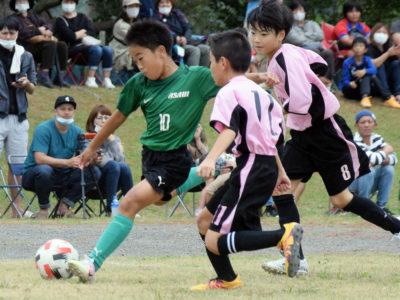 FC朝日(U10)がA級V