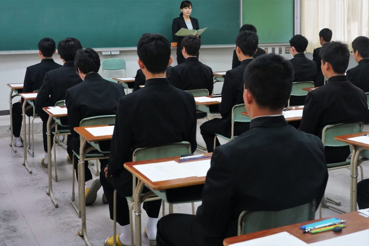 公立高校入試スタート