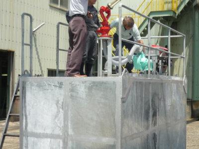 かん水タンク9基導入