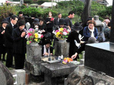 第55回富山丸戦没者慰霊祭