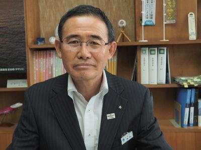 田中新支庁長インタビュー