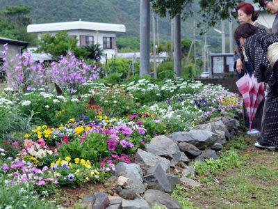 花と紬で楽しく交流