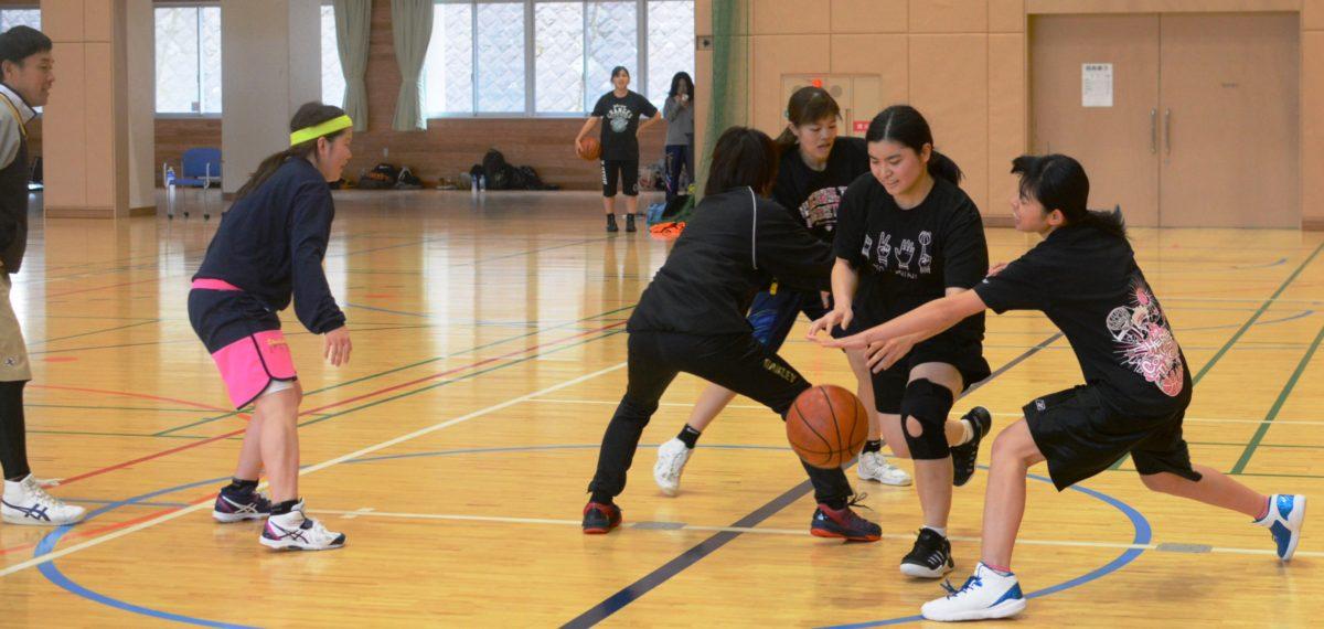 知的障がいバスケット九州合宿