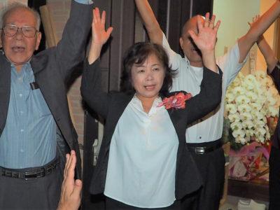 女性候補2人、躍進 トップ永井さん、福田さんW当選