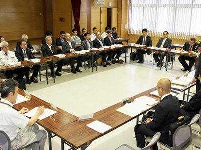 新名瀬港湾合庁の再整備協議