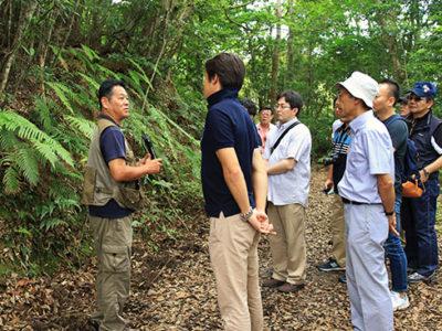 奄美で自然体感ツアー