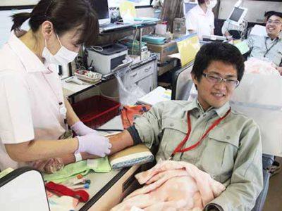 冬季献血スタート