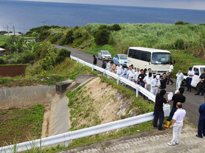 徳之島土砂流出防止協 優良事例を巡視