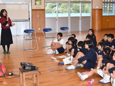 小学校で消費生活講座