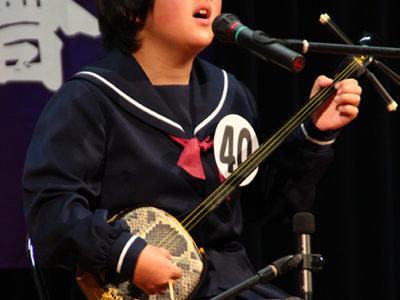 民謡民舞少年少女奄美連合大会
