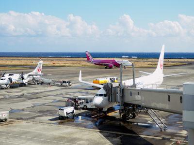奄美空港19年乗降客数