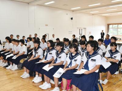龍進未来塾開講式