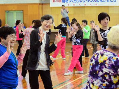 全国150人、レクダンスで交流
