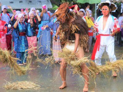 瀬戸内町「油井豊年踊り」