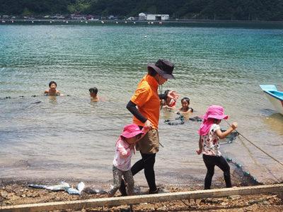 親子で地域の「伝統漁法」学ぶ