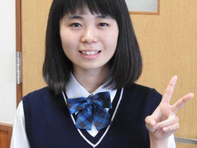 徳高2年の寺原さん 九州代表で全国大会へ