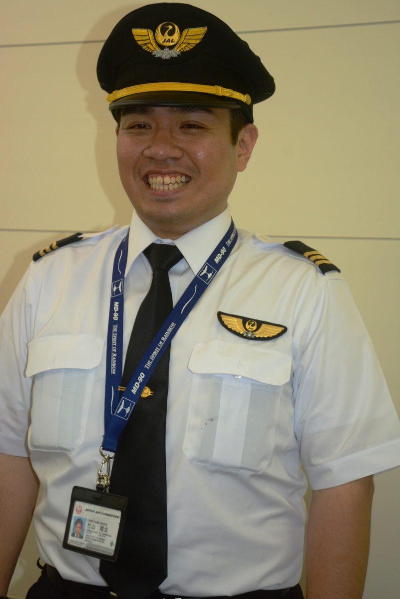 奄美出身2人目のパイロット誕生