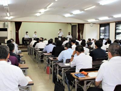 大島学区 中卒予定者100人増加見込み