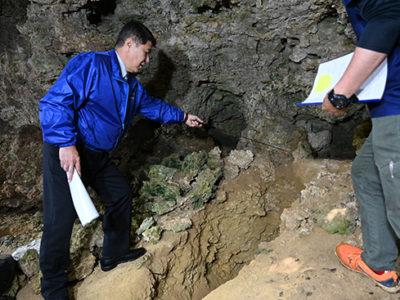 群島最古の風葬墓と判明