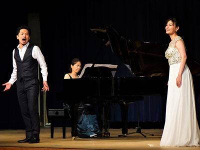 天城町で霧島国際音楽祭ふれあいコン