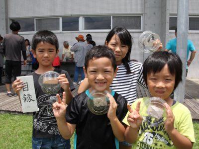 喜界町・カミキリムシ捕獲大会初開催