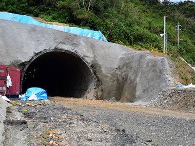宮古崎トンネルが貫通