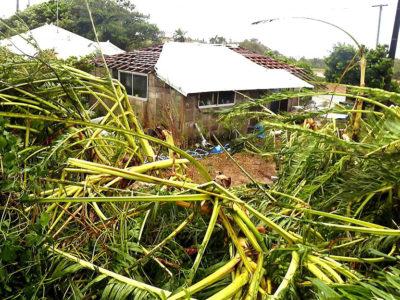 台風24号 直撃、住家損壊など被害が多発