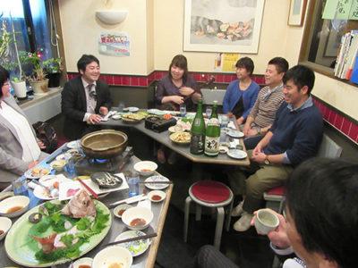 日本酒と黒糖焼酎コラボ