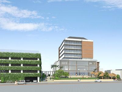 本庁舎新築工事の安全祈願