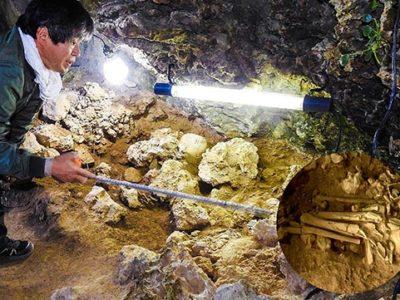 天城町「下原洞穴遺跡」