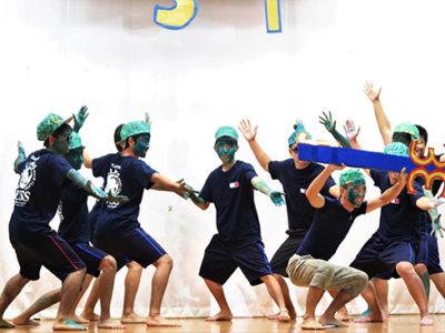 古仁屋高校で文化祭