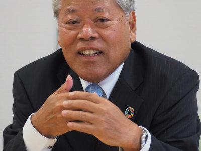 初当選果たした隈崎喜界町長