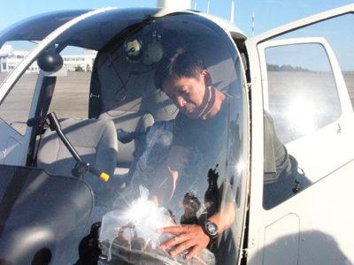 来月から航空防除実施へ