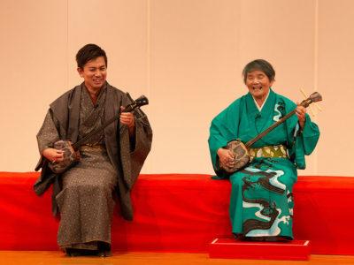 石原久子さんが歌うシマ唄を継ぐ