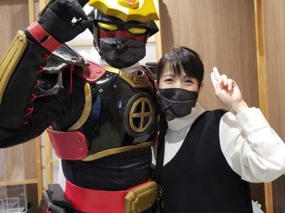 本場大島紬のマスクと黒糖焼酎の消毒液特別販売